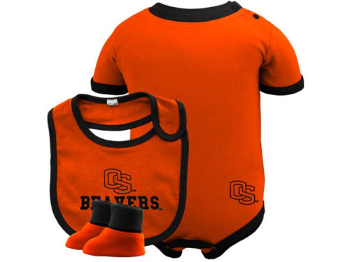 Oregon State Beavers Franco Newborn Bib & Bootie Set