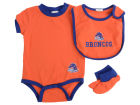 Boise State Broncos Franco MLB Newborn Bib And Bootie Set Newborn & Infant