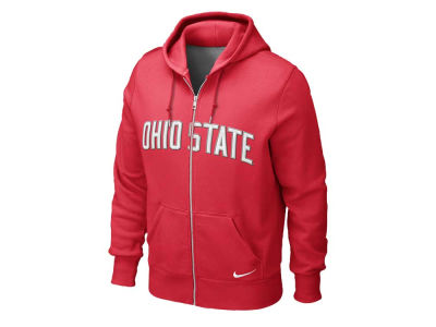 Nike NCAA Classic Full Zip Hooded Sweatshirt