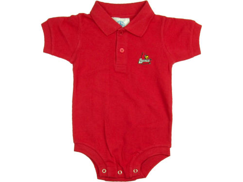 Louisville Cardinals NCAA Infant Polo Romper
