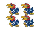 Kansas Jayhawks Wincraft Tattoo 4-pack Gameday & Tailgate