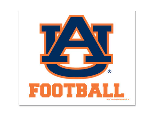 Auburn Tigers Wincraft 3x4 Ultra Decal