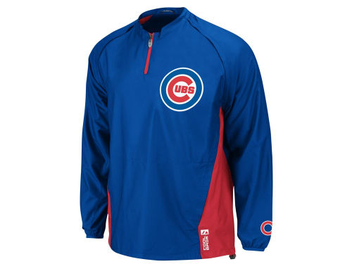 Chicago Cubs Majestic MLB Triple Peak Gamer Jacket