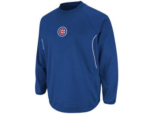 Chicago Cubs Majestic MLB Road Therma Base Tech Fleece