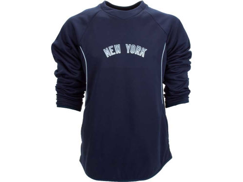 New York Yankees Majestic MLB Road Therma Base Tech Fleece