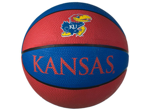 Kansas Jayhawks NCAA Rubber Mini Basketball