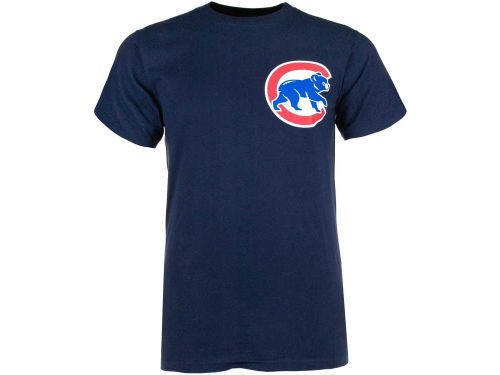 Chicago Cubs Majestic MLB Official Wordmark T-Shirt