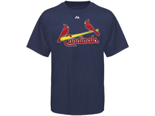 St. Louis Cardinals Majestic MLB Official Wordmark T-Shirt