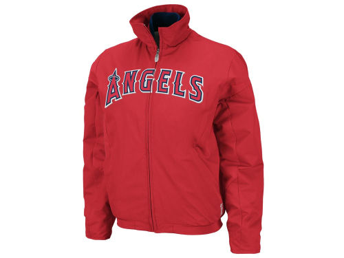 Los Angeles Angels of Anaheim Majestic MLB Womens Therma Base 3peak Jacket