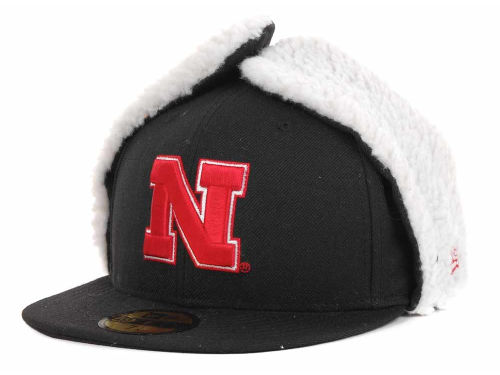 Nebraska Cornhuskers New Era NCAA Dog Ear w/White 59FIFTY Hats