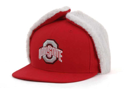 Ohio State Buckeyes NCAA Dog Ear w/White 59FIFTY Hats