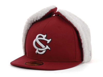 South Carolina Gamecocks NCAA Dog Ear w/White 59FIFTY Hats