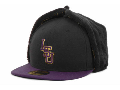 LSU Tigers NCAA De Chain Stitch 59FIFTY Hats
