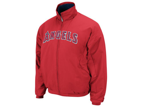Los Angeles Angels of Anaheim Majestic MLB Youth TB Triple Peak Premier Jacket