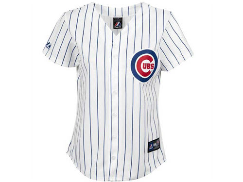Chicago Cubs Majestic MLB Youth Blank Replica Jersey