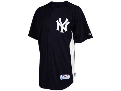 New York Yankees Majestic MLB Youth Cool Base Batting Practice Jersey