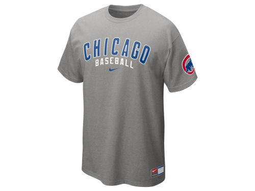 Chicago Cubs Nike MLB Away Practice T-Shirt