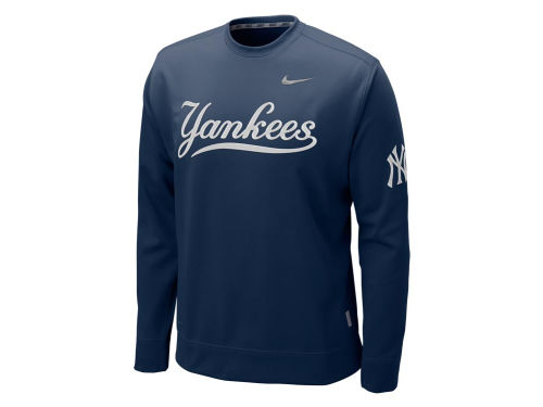 New York Yankees Nike MLB KO Therma-Fit Fleece Crew