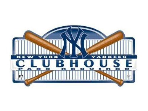 New York Yankees Wincraft Clubhouse Sign