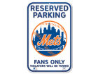 New York Mets Wincraft Reserve Parking Sign Auto Accessories