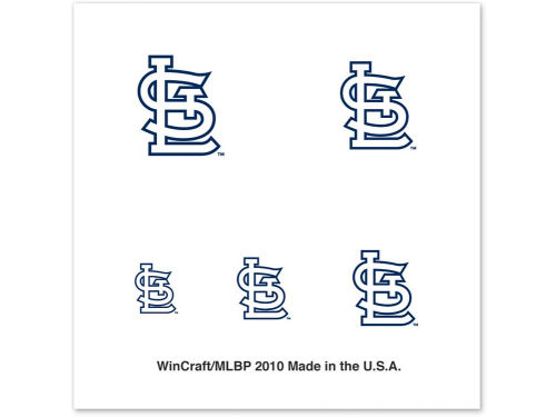 St. Louis Cardinals Wincraft Tattoo Nail