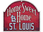 St. Louis Cardinals Wincraft Home Sweet Home Wood Sign Home Office & School Supplies