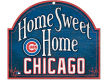 Chicago Cubs Wincraft Home Sweet Home Wood Sign