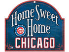 Chicago Cubs Wincraft Home Sweet Home Wood Sign Home Office & School Supplies