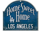 Los Angeles Dodgers Wincraft Home Sweet Home Wood Sign Home Office & School Supplies