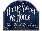 New York Yankees Wincraft Home Sweet Home Wood Sign Home Office & School Supplies