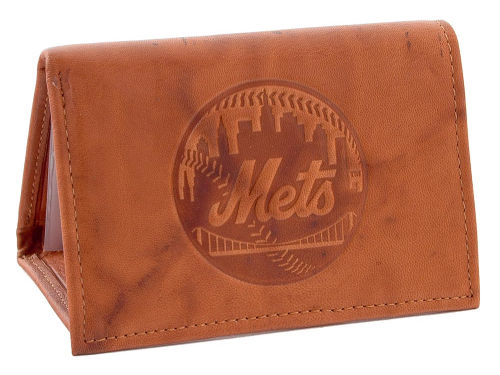 New York Mets Rico Industries Embossed Trifold Wallet