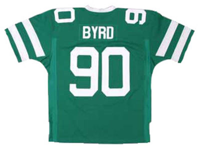 Mitchell and Ness Byrd Green Throwback Jersey - Dennis Byrd