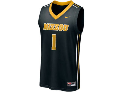 Missouri Tigers #1 Haddad Brands NCAA Youth Replica Basketball Jersey
