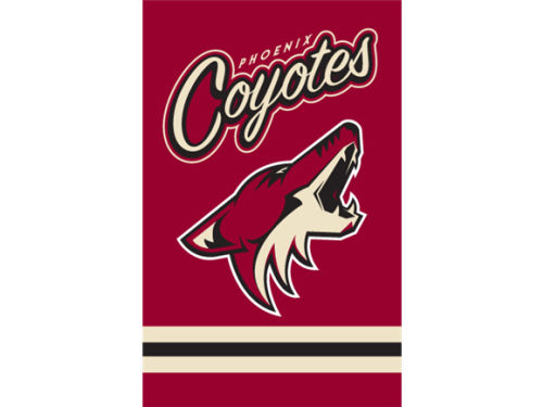 Phoenix Coyotes Applique House Flag