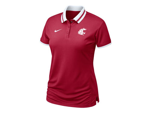 Washington State Cougars Nike NCAA Womens Sideline Polo