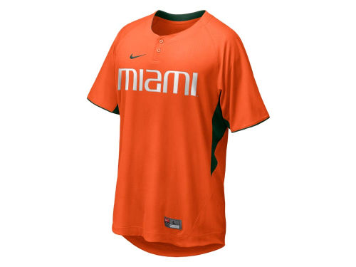 Miami Hurricanes Nike NCAA BP Top