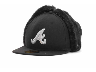 Atlanta Braves MLB Dogchain 59FIFTY Hats