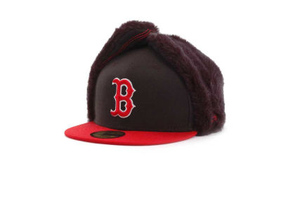 Boston Red Sox MLB Dogchain 59FIFTY Hats