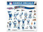 New York Mets 11x11 Family Decal Sheet Auto Accessories