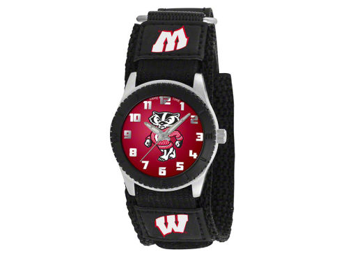 Wisconsin Badgers Game Time Pro Rookie Kids Watch Black