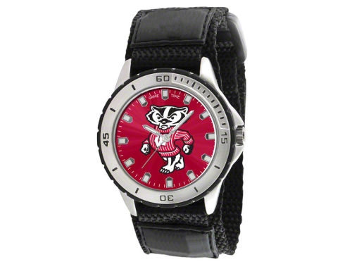 Wisconsin Badgers Game Time Pro Veteran Watch
