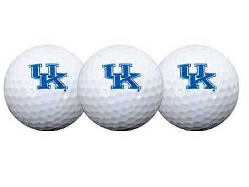 Kentucky Wildcats Team Effort SA Golf Ball 3 Pack