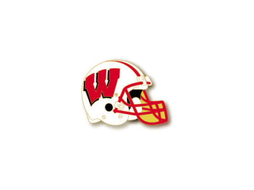 Wisconsin Badgers Aminco Inc. Helmet Pin