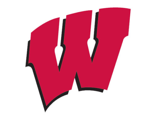 Wisconsin Badgers Wincraft 8x8 Die Cut Full Color Decal