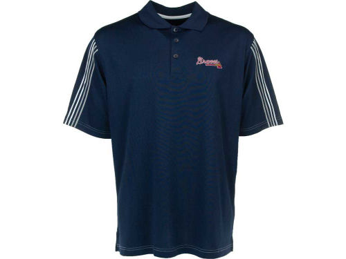 Atlanta Braves Antigua MLB Clutch Polo