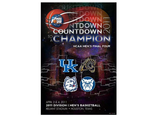 Kentucky Wildcats Profile NCAA Final Four Poster