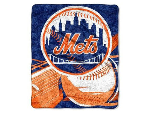 New York Mets 50x60 Sherpa Throw
