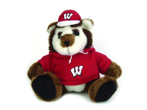 Wisconsin Badgers Bucky Badger 9in Plush Mascot