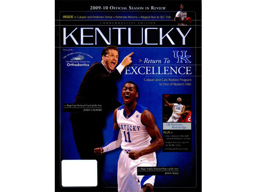Kentucky Wildcats Book 2009-10 Return 2 Excel