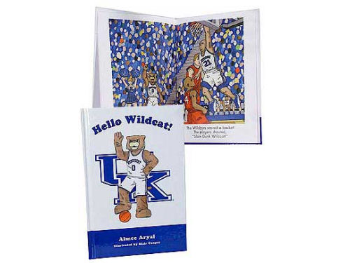Kentucky Wildcats Mascot Book